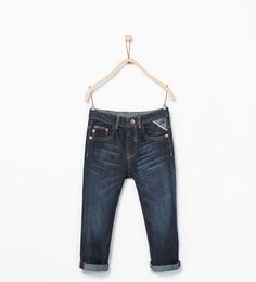 ZARA - COLLECTION AW15 - Piped jeans