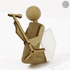 Auf Grund der großen Nachfrage gibt es unsere modernen Engel nun auch als Selbstbausatz. Im Bausatz sind alle benötigten Holz- und Papierteile enthalten. Die Teile des Engelkörpers sind fertig zugeschnitten und gebohrt. Sie müssen sie nur noch mit etwas Sandpapier abputzen und zusammenleimen. Die Arme und die Musikinstrumente sind aus Sperrholz u... DAMASU - Holzkunst aus dem Erzgebirge, www.damasu.de, 01733666223 http://www.damasu.de/ART_BS_ET_E_11 BAUSATZ FIGUREN ENGEL ENGEL…