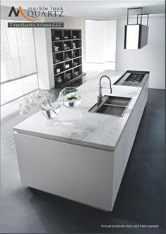 Kitchen White Lighting Kitchen Hood Single Handle Kitchen Faucet With Rectangle Sink In White Kitchen Island That Used Flat Stove Featuring Open Kitchen Cabinet Wall Mounted Stunning Handleless Dune Kitchen from Pedini Simple Kitchen Design, Kitchen Cabinet Design, Interior Design Kitchen, Kitchen Decor, Contemporary Kitchen Cabinets, Cocinas Kitchen, Kitchen Collection, Cuisines Design, Interior Exterior