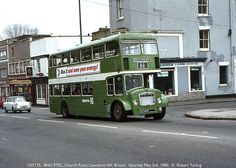 Lawrence Hill I used to catch that bus to town. City Of Bristol, Bristol Uk, Bristol England, Routemaster, Double Decker Bus, Bus Coach, Busses, Local History, Somerset