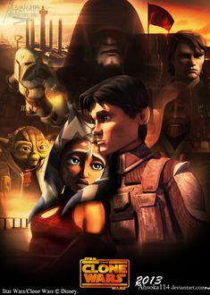 Clone Wars Season It Back by on DeviantArt Star Wars Rebels, Star Wars Clone Wars, Asoka Tano, Images Star Wars, Star Wars Facts, Jedi Knight, Star Wars Poster, Disney Star Wars, For Stars