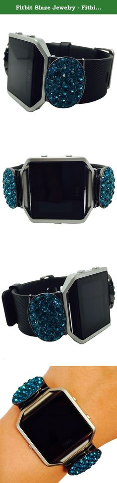 Fitbit Blaze Jewelry - Fitbit Fitness Tracker Accessory Bracelet - Simple Oval Hematite Blue Pink Rhinestone Studded PROVIDENCE Fitbit Charm Accessory (Blue). Fitbit Blaze Jewelry - Fitness Tracker Accessory Bracelet - Simple Oval Hematite Blue Pink Rhinestone Studded PROVIDENCE Fitbit Charm Accessory. Harmonize weekend style & wearable tech! This Simple Oval Hematite Blue Pink Rhinestone Studded PROVIDENCE Fitbit Charm Accessory for the Fitbit Blaze activity trackers is a boho, chic and…