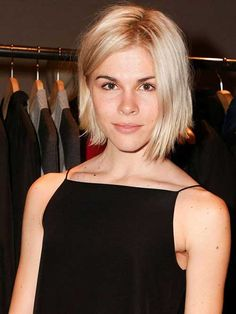 Image result for cute blonde bob