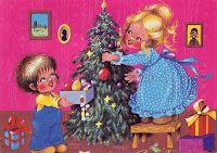 Füzesi Zsuzsa képeslapok - Lorenin's Collection Seasons, Christmas Ornaments, Holiday Decor, Drawings, Illustration, Artist, Painting, Hungary, Sarah Key
