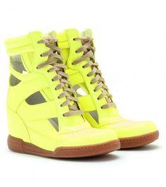 38b11a3e13a3 Marc By Marc Jacobs Kisha Cutout Hidden Wedge Sneakers - Lyst