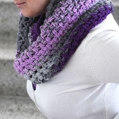 Háčkovaný nákrčník...fialovošedý Crocheting, Fashion, Crochet, Moda, Fashion Styles, Chrochet, Fasion, Knits, Knitting