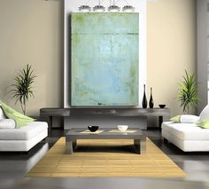 Abstract Painting Original art large painting by CherylWasilowArt