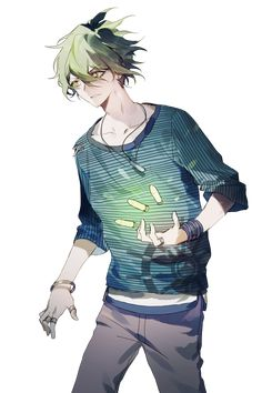 It be cool if he was alive in the game. Rantaro Amami, He Is Alive, Danganronpa V3, Geek Stuff, Anime, Fictional Characters, Fandom, Geek Things, Cartoon Movies
