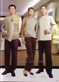 Model seragam hotel penerima tamu model baju seragam for Spa uniform patterns