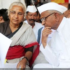 Medha Patkar and Anna Hazare, two of Maharashtra's leading social workers, have shook the nation with their head-strong battle against the corruption in India and won them common man's support and faith.