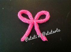 Mon collier tricotin | Patati & Patatarte