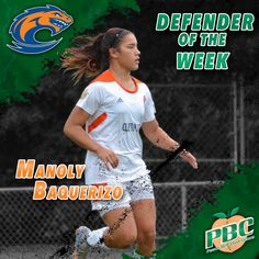 Women's Soccer Defender of the Week: Manoly Baquerizo, Clayton State