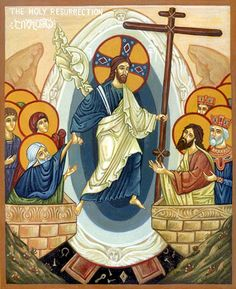 Воскресение Христово. Греческая икона