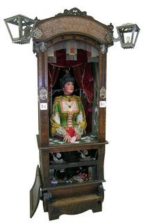 Fortune Telling Machines, Music Boxes Automaton, Fortune Teller, Art Automata, Artificial Humanity, Arcade Machine, Teller Cabinet, Automata Kinetic