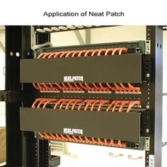 neat patch, for the serious home theater designer server room, cable  management system,