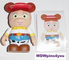 "3"" Jessie Toy Story Series Disney Vinylmation with Artist Card | eBay"
