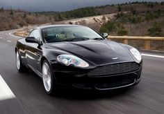 Aston Martin DB9, GT sports coupé launched by Aston Martin in 2004.