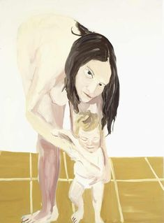 Mother and child II 2005 Chantal Joffe