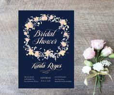 Bridal Shower Invitations-Digital by MElizondoDesigns on Etsy