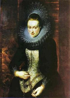 1603 Peter Paul Rubens (Belgian painter, 1577-1640) Lady with Rosary