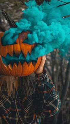 33 creative & easy pumpkin carving ideas make your happy halloween - Realty Worlds Tactical Gear Dark Art Relationship Goals Halloween Prop, Happy Halloween, Maske Halloween, Diy Halloween Decorations, Halloween 2019, Holidays Halloween, Halloween Pumpkins, Halloween Crafts, Halloween Costumes