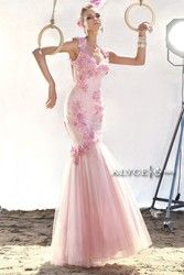Claudine Dresses for Alyce Paris Style 2404- Cap Sleeve Sweetheart Neckline Long Gown