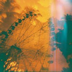 Ferris Wheel in Santa Rosa by feverish-eye.deviantart.com    #DailyDeviation: 6/15/12