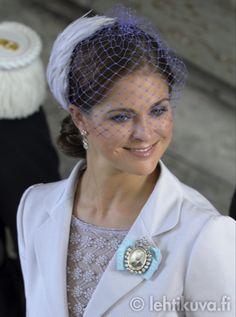 Princess Madeleine Christening of Princess Estelle of Sweden
