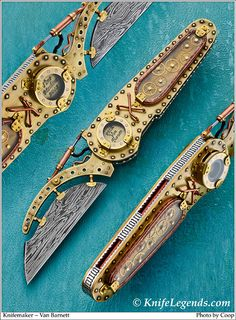 SteamPunk pocket Knife.  I would love to be skilled enough to create one of these!