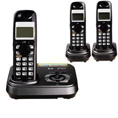 1,9 GHz Dect 6,0 Digitale Schnurlose Telefon Mit Antwort System Drahtlose Basisstation Schnurlose Festnetztelefon Für Büro