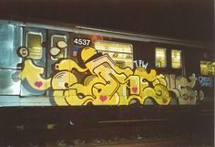 RENKS @goat_squad777 _______________________ #madstylers #graffiti #graff #underground #trainbombing