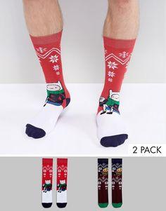 Носки Asos Christmas — 490 ₽ http://www.asos.com/ru/asos/nabor-iz-2-par-noskov-asos-christmas/prd/8475016?CTARef=Saved%20Items%20Image