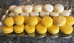 Μακαρόν -Macarons!!! ~ ΜΑΓΕΙΡΙΚΗ ΚΑΙ ΣΥΝΤΑΓΕΣ Dessert Recipes, Desserts, Hot Dog Buns, Macarons, Hamburger, Muffin, Eggs, Sweets, Sugar