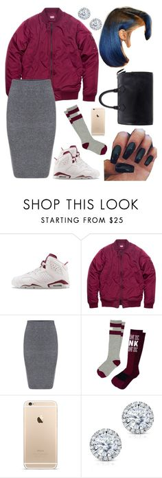 """""""#194:You Do What You Want When You Poppin'☺️!!"""" by tyyanniharris ❤ liked on Polyvore featuring NIKE, Victoria's Secret, Kobelli, Louis Vuitton, women's clothing, women, female, woman, misses and juniors"""