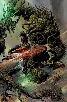 Ares vs Man-Thing