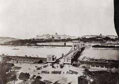 Ilyen is volt Budapest - Ferenc József (Széchenyi István) tér China Hong Kong, Budapest Hungary, Old Photos, Paris Skyline, 19th Century, Nostalgia, The Past, History, Places