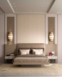 Ottimo brings luxury Italian furniture brand Cipriani Homood to India - The Architects Diary Master Bedroom Furniture, Luxury Italian Furniture, Bedroom Design, Bed Furniture Design, Luxurious Bedrooms, Ceiling Design Living Room, Modern Bedroom Interior, Interior Design Bedroom, Ceiling Design Bedroom