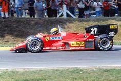 Michele Alboreto | Ferrari 126C4 | Italian Grand Prix