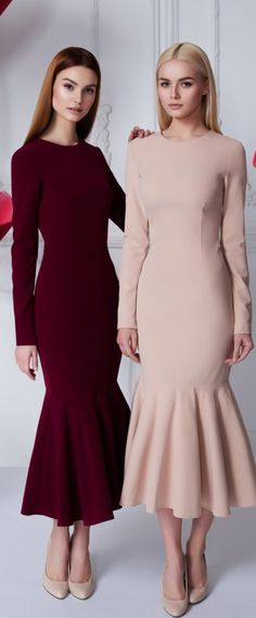 Ideas For Style Vestimentaire Hijab Modest Fashion, Hijab Fashion, Fashion Dresses, Cute Dresses, Beautiful Dresses, Formal Dresses, Look Fashion, Womens Fashion, Fashion Design