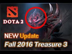 Dota 2 secret Fall 2016 Treasure 3 Shadow Fiend, Undying, Lich, Winter W...