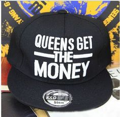"""EXO Sehun Style """"Queens Get The Money"""" Snapback"""
