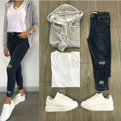 Which combination do you like most? You have your friends # Sporty Outfits combination friends Sporty Outfits, Mode Outfits, Outfits For Teens, Trendy Outfits, Fall Outfits, Fashion Outfits, Womens Fashion, School Outfits, Casual Summer Dresses