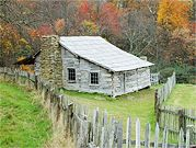Incroyable Weathered Log Cabins Greet Visitors To Hensley Settlement   Cumberland Gap  NP