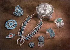 Zuni And Navajo Jewelry