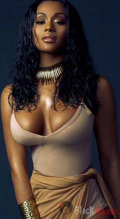 Gorgeous sexy Black melanated African goddess wearing cultural face paint and African jewels. Gorgeous Sexy and tantalizing women – Black Wo. Most Beautiful Black Women, Beautiful Ladies, Black Magic Woman, Black Goddess, Ebony Girls, Sexy Ebony, Ebony Beauty, Black Beauty, Silky Hair