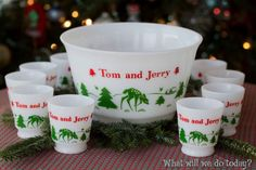 I scored a set of Tom & Jerry mugs (sans bowl) at a white elephant gift exchange. Must try making this!