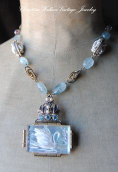 WOW SEE WENDY BAKER JEWLERY PINTEREST SOLDLayaway for PriscillaSWAN LAKE by ChristineWallace on Etsy