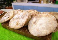 Aprenda a fazer a receita de Pão Sírio
