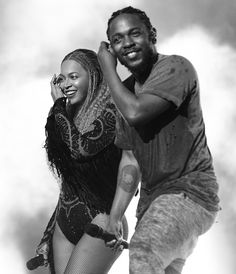 Beyoncé & Kendrick Lamar Rehearsing for the 'Freedom' performance at The 2016 BET Awards at the Microsoft Theatre on June 26, 2016 in Los Angeles, California.