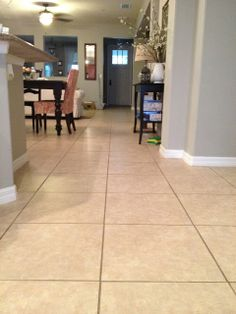 All natural Tile Floor Cleaner #DIY #Greencleaning | house keeping ...